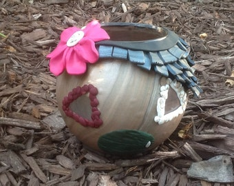 Fairy House Candle Holder
