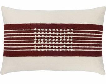 JUNA pillows (burgundy)