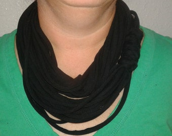 Jersey Infinity scarf, collar