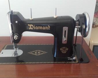 """Antique sewing machine """"Diamant"""""""