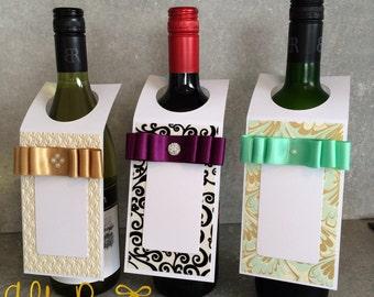 Handmade bottletag cards ( 3pack)