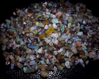 5000Cts. Natural Excellent Chatoyant Ethopian opal Rough Big Pieces on 10-25Cts per piece Gemstones Cabs Wholesale Lot