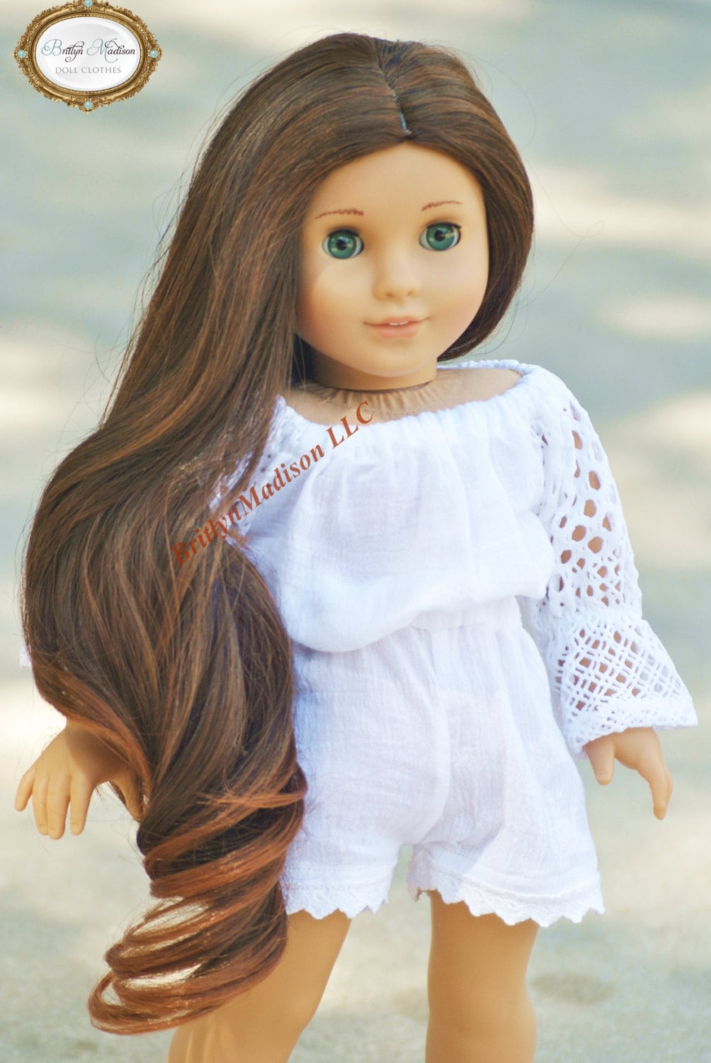 Premium Doll Wig Size 10 11 Fits 18 Inch Dolls Like