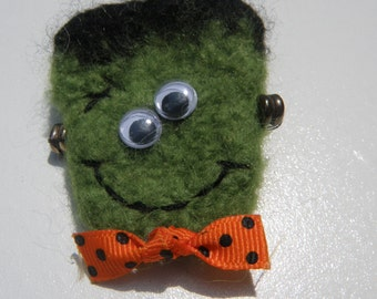 Frankenstein Monster Wool Pin