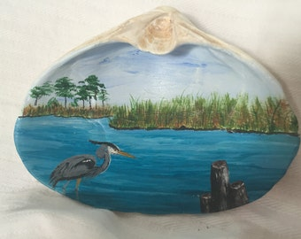 Heron on the Chesapeake