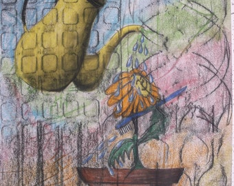 Pastel drawing Dreamland