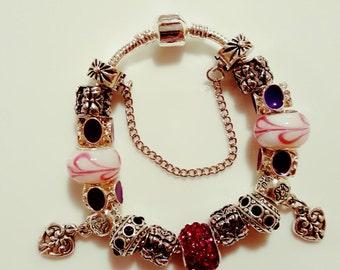 Charm Bracelet, Pandora Style