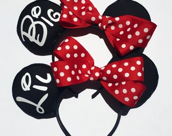 15% Discount: Package Big and Little Mouse Ears