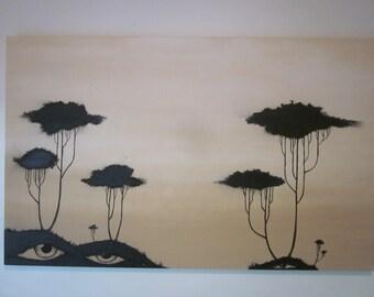 Black Trees Stare