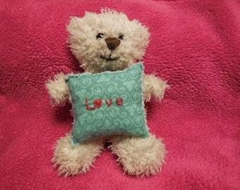 LOVE pin cushion