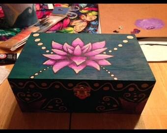 Lotus jewelry box