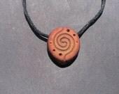 Espiral galactica... / Inspirales / avocado pit necklace