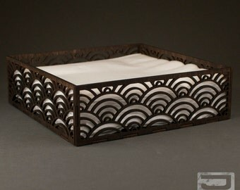 Wooden Napkin Box