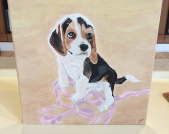 Custom Hand-Crafted Painting on Canvas (12x12)