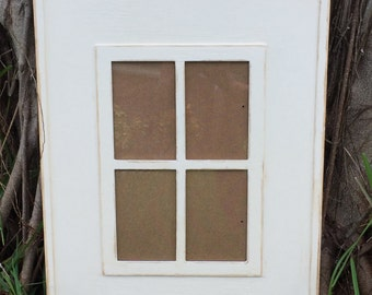 Rustic painted picture frame