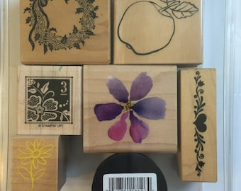 Assorted All Occasion Rubber Stamps