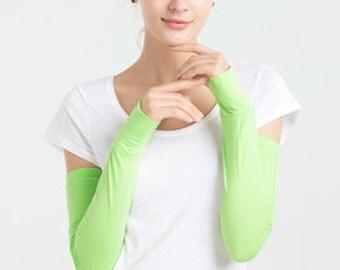 Mint Season® Driving Fingerless Gloves UPF 50+