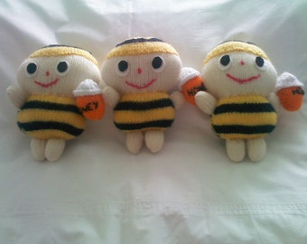 woodland knitted toys