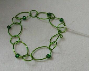 Links bracelet green