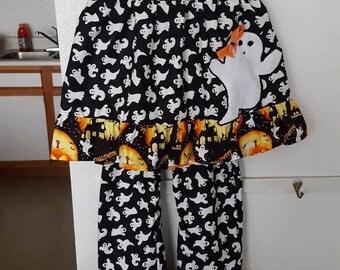 Halloween boutique ruffle set