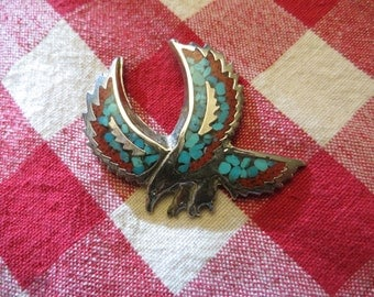 Eagle Pendant Bird of Prey American Eagle  w/free ship