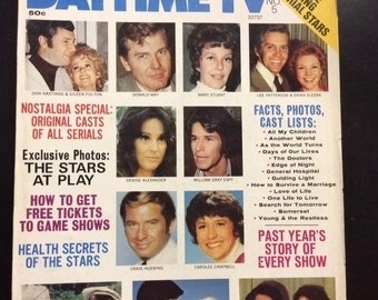 Who's Who in Daytime Tv~No. 5~ 1974~Denise Alexander~Mary Stuart~