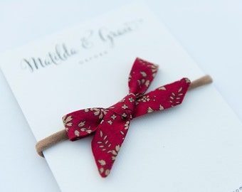 Hand tied Liberty of London Bow