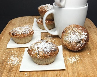 Clean and healthy homemade muffins