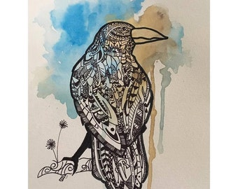 Ravenclaw Watercolor