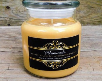 Sensual Amber Soy Candle, Sensual Soy Candle, Soy Candle