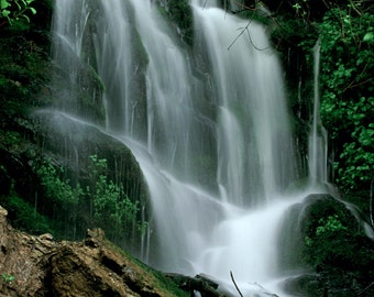 Taylor Canyon Spring Waterfall Fine Art Photographic Print