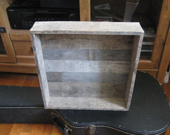 Weathered Wood Box