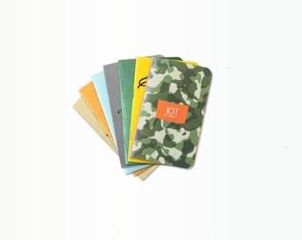 JOT. Books -- Pick '7' - Pick ANY Seven Pocket Notebooks