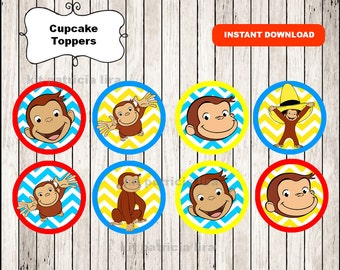 Pin The Hat On Curious George Chalkboard Party Game Curious