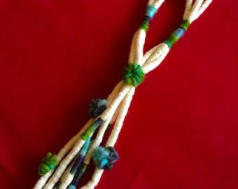 Necklace of felt
