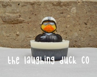 Rubber Ducky Soap 3oz / Maple Bacon Soap / Police, Cop, Law Enforcement, Rubber Duck, Rubber Duckies, Bath Time, Gift Ideas, Childs Toy