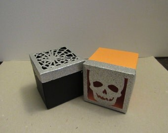 Halloween Gift/Favor Boxes
