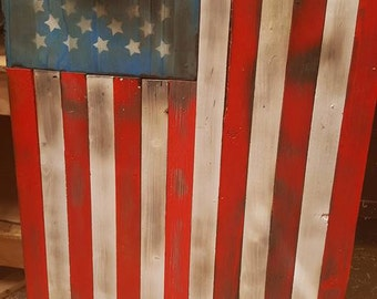 Scorched old Glory