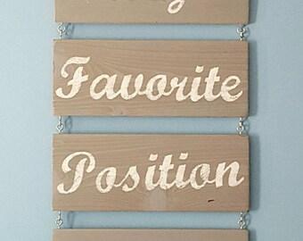 Custom Wood Sign Wall Decor