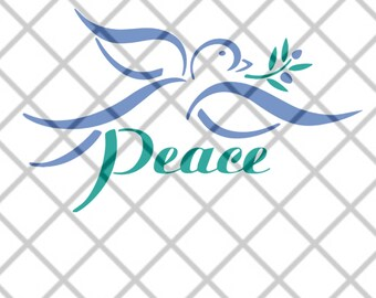 Peace Dove SVG