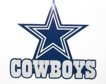 Dallas Cowboys Decal Sticker