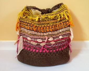 Sunset Woven Cross Body Bag