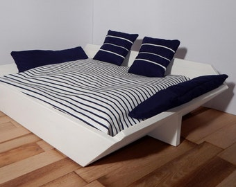 "Dog bed ""Marinaio"" (Sailor), Made in Italy, We Wag, Size XS 40X45 cm"