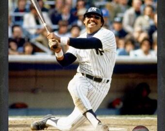 Reggie Jackson New York Yankees 16x20 Framed Photo (Approximately 22.5 x 26.5 Framed)