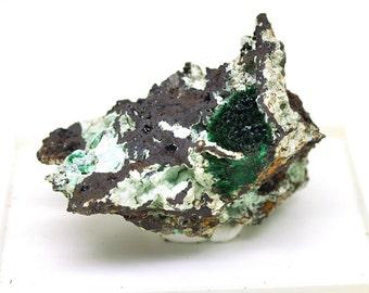 Malachite chrysocolla, Zaire, 55mm, 90gm