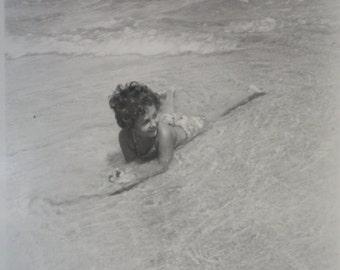 20th Century Vernacular Photo - The Little Mermaid Girl