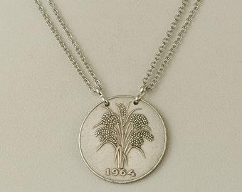 Vietnam  Coin Necklace 1964