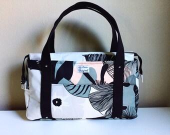 Black Shoulder Bag for Women, Black Purse for Women, Black Handbag for Women, Travel Tote Handbag, Ladies Purse, Fabric Handbag, Cloth Purse