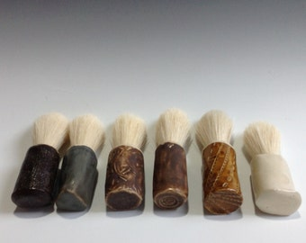 Just The Shaving Brush Please! Seven Dollars Ships Them All Together!