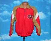 San Francisco 49ers Shain Jacket Small Vintage 1990s